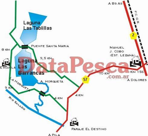 Las Tablillas - Las Barrancas