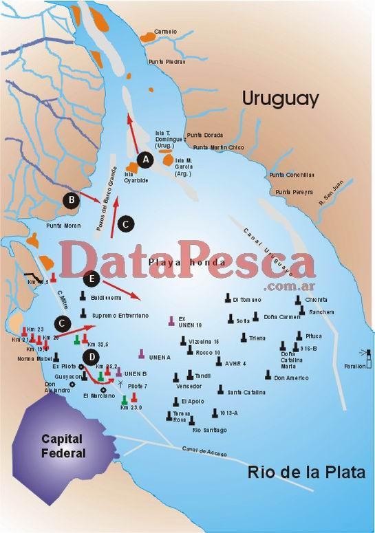 Rio de la Plata (Ribera Norte)