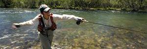 La Patagonia se ha convertido en meca de la pesca deportiva.