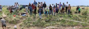 Pescaban en arroyo de Ezeiza y encontraron el caparazón de un gliptodonte